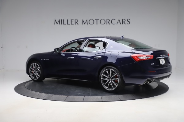 New 2020 Maserati Ghibli S Q4 for sale Sold at Rolls-Royce Motor Cars Greenwich in Greenwich CT 06830 4
