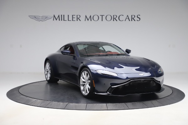 New 2020 Aston Martin Vantage Coupe for sale $177,481 at Rolls-Royce Motor Cars Greenwich in Greenwich CT 06830 10