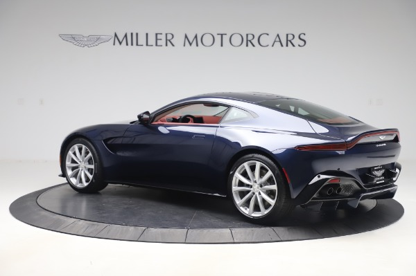 New 2020 Aston Martin Vantage for sale $177,481 at Rolls-Royce Motor Cars Greenwich in Greenwich CT 06830 3