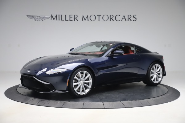 New 2020 Aston Martin Vantage Coupe for sale $177,481 at Rolls-Royce Motor Cars Greenwich in Greenwich CT 06830 1