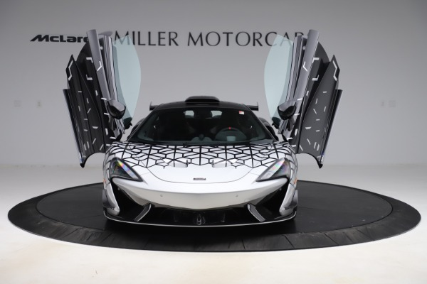New 2020 McLaren 620R Coupe for sale Sold at Rolls-Royce Motor Cars Greenwich in Greenwich CT 06830 9