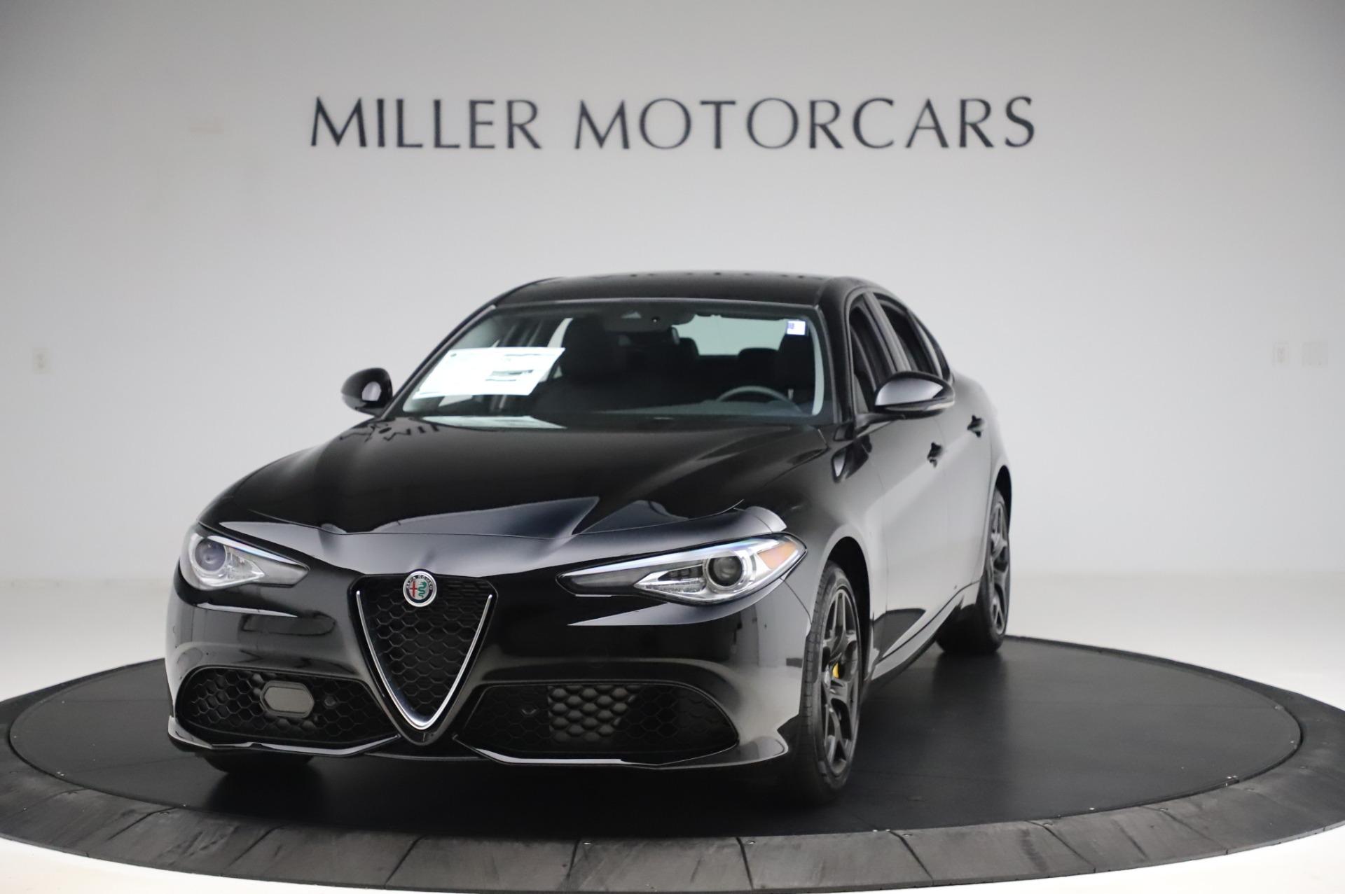 New 2020 Alfa Romeo Giulia Sport Q4 for sale $47,095 at Rolls-Royce Motor Cars Greenwich in Greenwich CT 06830 1
