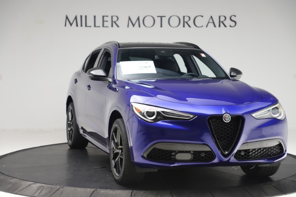 New 2020 Alfa Romeo Stelvio Ti Sport Q4 for sale $57,945 at Rolls-Royce Motor Cars Greenwich in Greenwich CT 06830 11