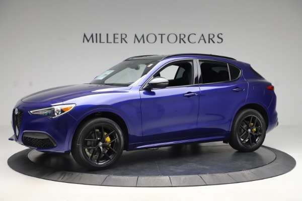 New 2020 Alfa Romeo Stelvio Ti Sport Q4 for sale $57,945 at Rolls-Royce Motor Cars Greenwich in Greenwich CT 06830 2