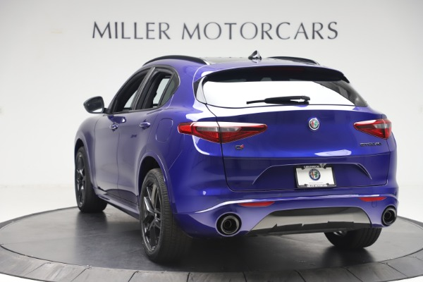 New 2020 Alfa Romeo Stelvio Ti Sport Q4 for sale $57,945 at Rolls-Royce Motor Cars Greenwich in Greenwich CT 06830 5
