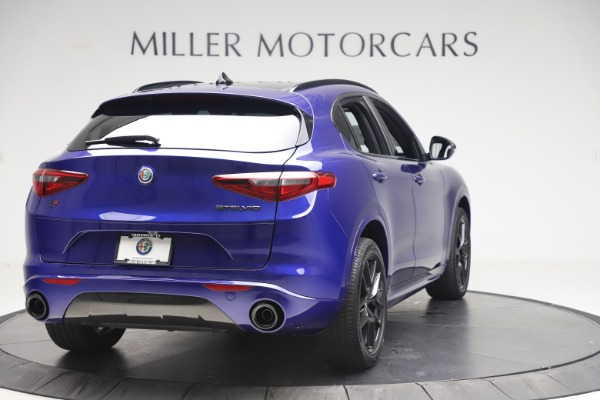 New 2020 Alfa Romeo Stelvio Ti Sport Q4 for sale $57,945 at Rolls-Royce Motor Cars Greenwich in Greenwich CT 06830 7