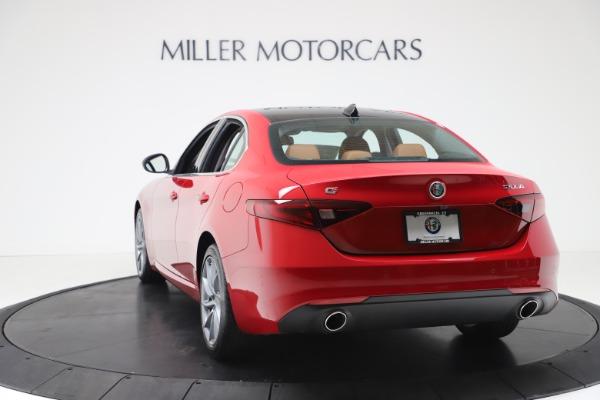 New 2020 Alfa Romeo Giulia Q4 for sale $46,395 at Rolls-Royce Motor Cars Greenwich in Greenwich CT 06830 5