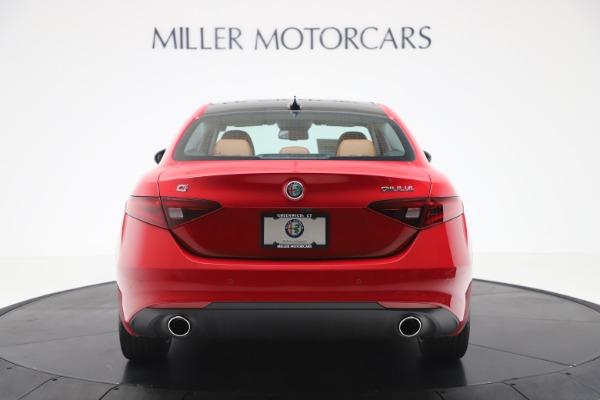 New 2020 Alfa Romeo Giulia Q4 for sale $46,395 at Rolls-Royce Motor Cars Greenwich in Greenwich CT 06830 6