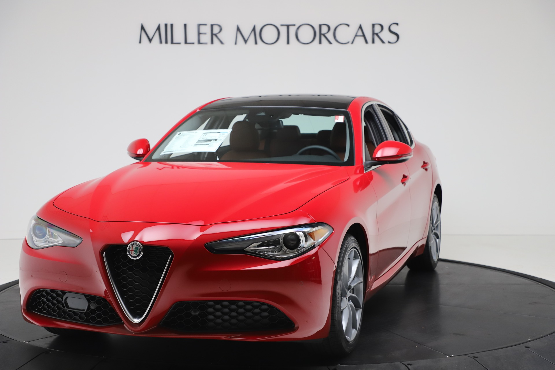 New 2020 Alfa Romeo Giulia Q4 for sale $46,395 at Rolls-Royce Motor Cars Greenwich in Greenwich CT 06830 1