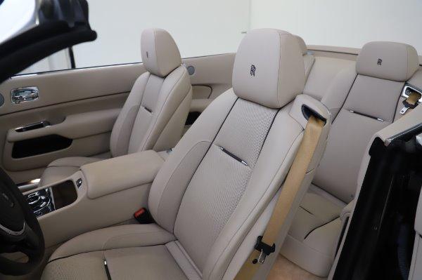 Used 2017 Rolls-Royce Dawn for sale Sold at Rolls-Royce Motor Cars Greenwich in Greenwich CT 06830 21