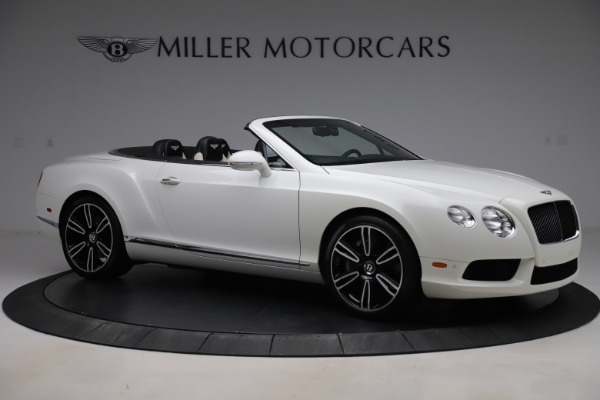 Used 2014 Bentley Continental GTC V8 for sale $109,900 at Rolls-Royce Motor Cars Greenwich in Greenwich CT 06830 10