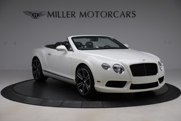 Used 2014 Bentley Continental GTC V8 for sale $109,900 at Rolls-Royce Motor Cars Greenwich in Greenwich CT 06830 11
