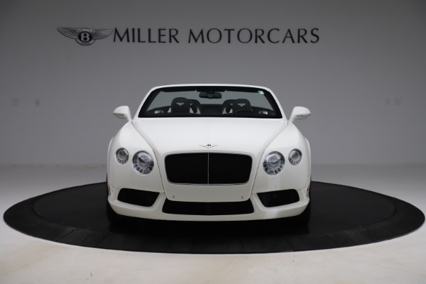 Used 2014 Bentley Continental GTC V8 for sale $109,900 at Rolls-Royce Motor Cars Greenwich in Greenwich CT 06830 12