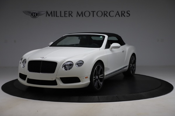 Used 2014 Bentley Continental GTC V8 for sale $109,900 at Rolls-Royce Motor Cars Greenwich in Greenwich CT 06830 13