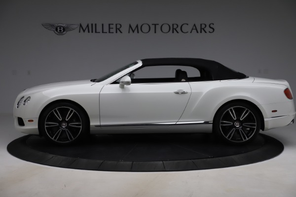 Used 2014 Bentley Continental GTC V8 for sale $109,900 at Rolls-Royce Motor Cars Greenwich in Greenwich CT 06830 14