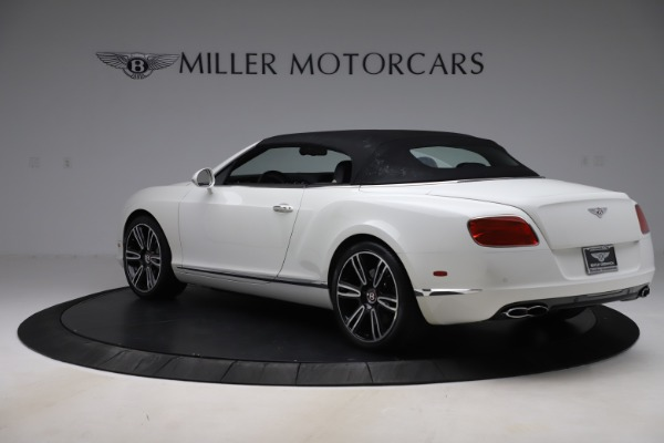 Used 2014 Bentley Continental GT Convertible V8 for sale $106,900 at Rolls-Royce Motor Cars Greenwich in Greenwich CT 06830 15