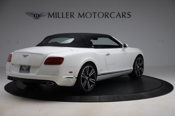 Used 2014 Bentley Continental GTC V8 for sale $109,900 at Rolls-Royce Motor Cars Greenwich in Greenwich CT 06830 16