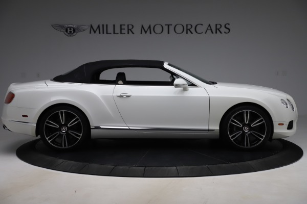 Used 2014 Bentley Continental GTC V8 for sale $109,900 at Rolls-Royce Motor Cars Greenwich in Greenwich CT 06830 17