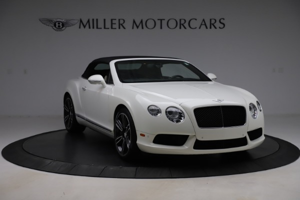 Used 2014 Bentley Continental GTC V8 for sale $109,900 at Rolls-Royce Motor Cars Greenwich in Greenwich CT 06830 18
