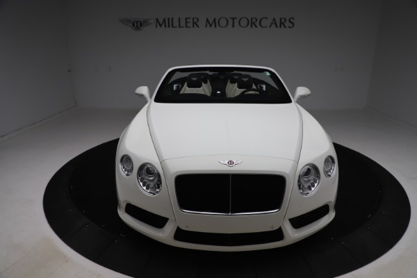 Used 2014 Bentley Continental GTC V8 for sale $109,900 at Rolls-Royce Motor Cars Greenwich in Greenwich CT 06830 19