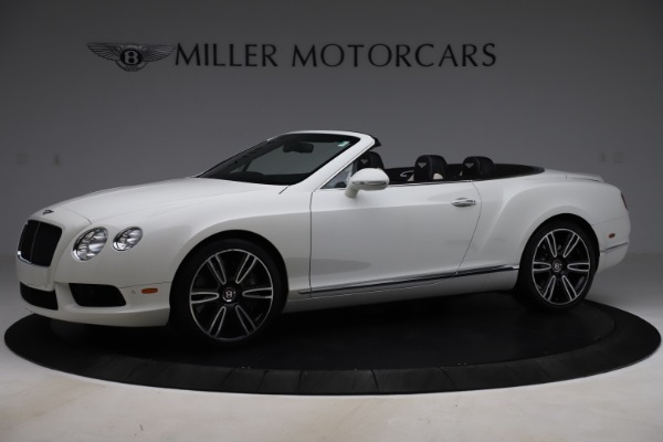 Used 2014 Bentley Continental GT Convertible V8 for sale $106,900 at Rolls-Royce Motor Cars Greenwich in Greenwich CT 06830 2