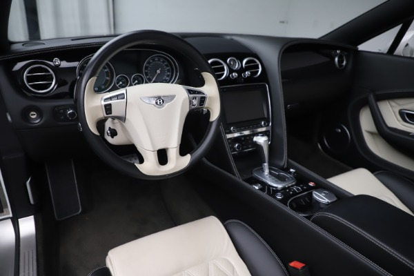 Used 2014 Bentley Continental GT Convertible V8 for sale $106,900 at Rolls-Royce Motor Cars Greenwich in Greenwich CT 06830 25