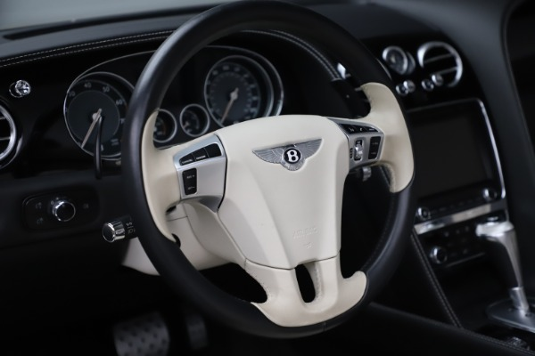 Used 2014 Bentley Continental GTC V8 for sale $109,900 at Rolls-Royce Motor Cars Greenwich in Greenwich CT 06830 26