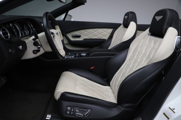 Used 2014 Bentley Continental GT Convertible V8 for sale $106,900 at Rolls-Royce Motor Cars Greenwich in Greenwich CT 06830 27