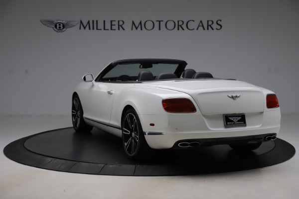 Used 2014 Bentley Continental GTC V8 for sale $109,900 at Rolls-Royce Motor Cars Greenwich in Greenwich CT 06830 5