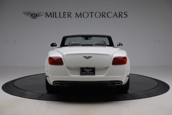 Used 2014 Bentley Continental GTC V8 for sale $109,900 at Rolls-Royce Motor Cars Greenwich in Greenwich CT 06830 6