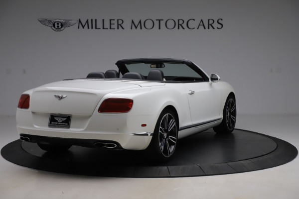 Used 2014 Bentley Continental GTC V8 for sale $109,900 at Rolls-Royce Motor Cars Greenwich in Greenwich CT 06830 7