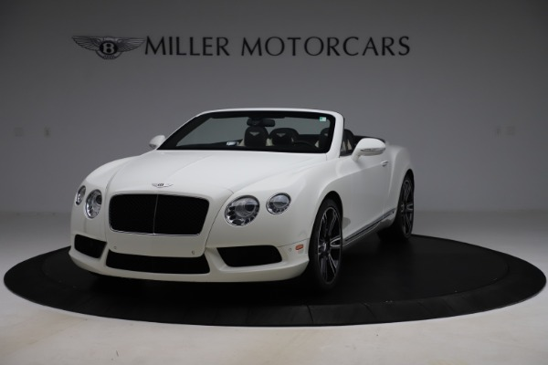 Used 2014 Bentley Continental GT Convertible V8 for sale $106,900 at Rolls-Royce Motor Cars Greenwich in Greenwich CT 06830 1