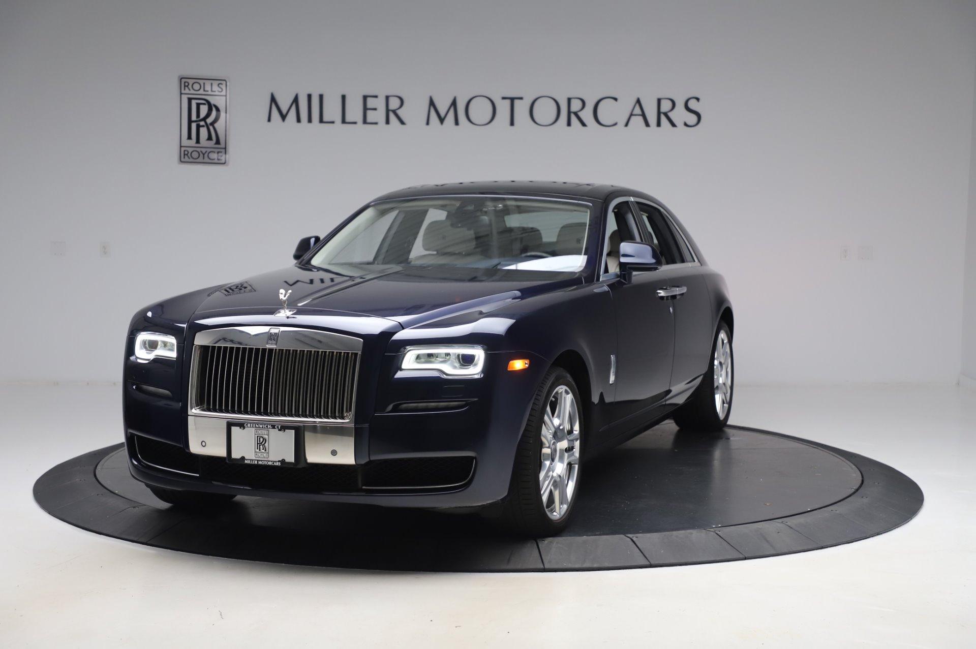 Used 2016 Rolls-Royce Ghost for sale $173,900 at Rolls-Royce Motor Cars Greenwich in Greenwich CT 06830 1