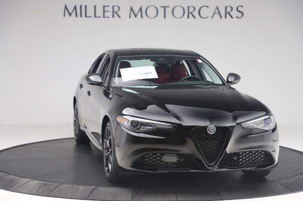 New 2020 Alfa Romeo Giulia Q4 for sale $48,445 at Rolls-Royce Motor Cars Greenwich in Greenwich CT 06830 11
