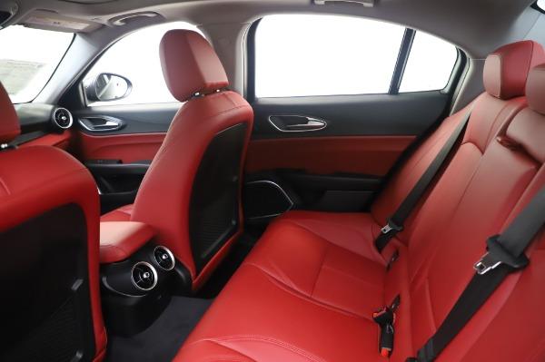 New 2020 Alfa Romeo Giulia Q4 for sale $48,445 at Rolls-Royce Motor Cars Greenwich in Greenwich CT 06830 19