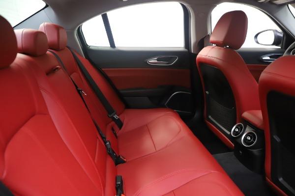 New 2020 Alfa Romeo Giulia Q4 for sale $48,445 at Rolls-Royce Motor Cars Greenwich in Greenwich CT 06830 27