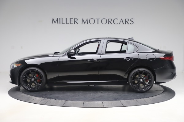 New 2020 Alfa Romeo Giulia Q4 for sale $48,445 at Rolls-Royce Motor Cars Greenwich in Greenwich CT 06830 3