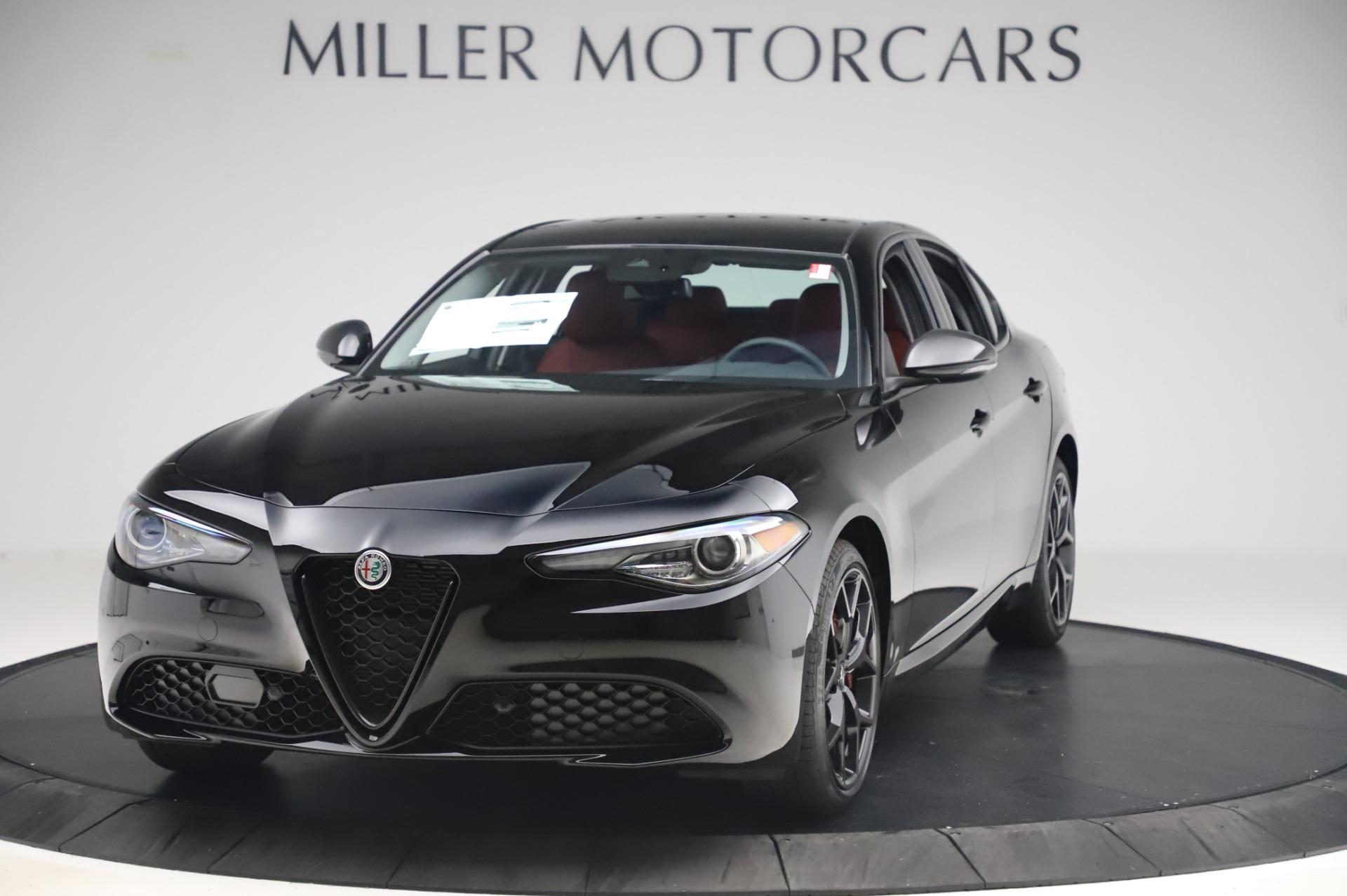 New 2020 Alfa Romeo Giulia Q4 for sale $48,445 at Rolls-Royce Motor Cars Greenwich in Greenwich CT 06830 1