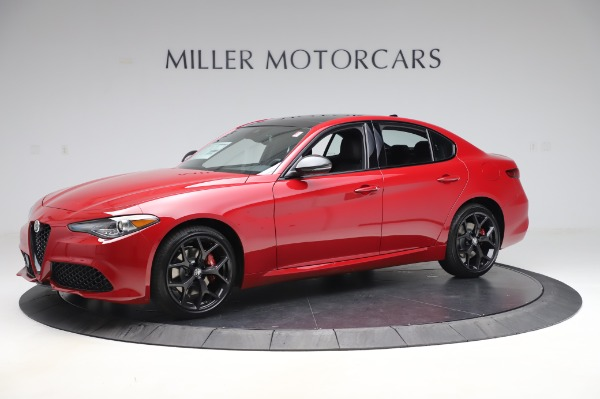 New 2020 Alfa Romeo Giulia Sport Q4 for sale Call for price at Rolls-Royce Motor Cars Greenwich in Greenwich CT 06830 2
