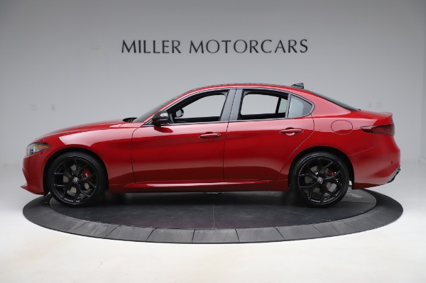 New 2020 Alfa Romeo Giulia Sport Q4 for sale Call for price at Rolls-Royce Motor Cars Greenwich in Greenwich CT 06830 3