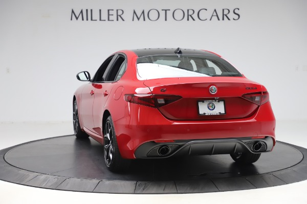 New 2020 Alfa Romeo Giulia Sport Q4 for sale Call for price at Rolls-Royce Motor Cars Greenwich in Greenwich CT 06830 5