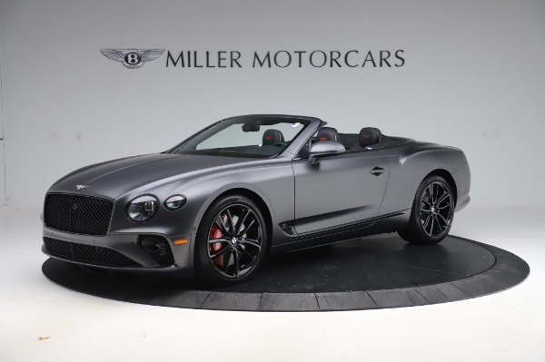 New 2020 Bentley Continental GTC W12 for sale $329,600 at Rolls-Royce Motor Cars Greenwich in Greenwich CT 06830 2
