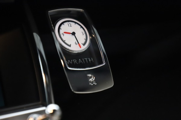 Used 2015 Rolls-Royce Wraith Base for sale Sold at Rolls-Royce Motor Cars Greenwich in Greenwich CT 06830 22