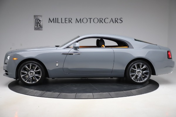 New 2020 Rolls-Royce Wraith for sale $405,625 at Rolls-Royce Motor Cars Greenwich in Greenwich CT 06830 3