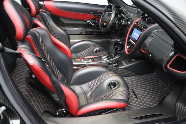 Used 2017 Pagani Huayra Roadster for sale Call for price at Rolls-Royce Motor Cars Greenwich in Greenwich CT 06830 27