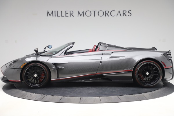 Used 2017 Pagani Huayra Roadster for sale Call for price at Rolls-Royce Motor Cars Greenwich in Greenwich CT 06830 3