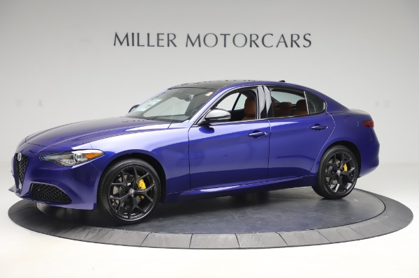 New 2020 Alfa Romeo Giulia Q4 for sale Sold at Rolls-Royce Motor Cars Greenwich in Greenwich CT 06830 2