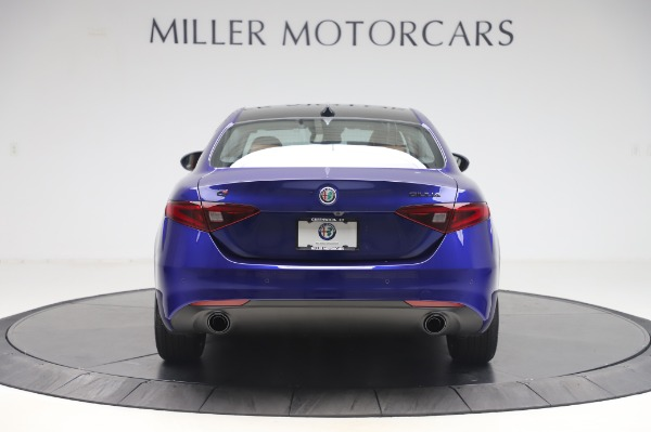 New 2020 Alfa Romeo Giulia Q4 for sale Sold at Rolls-Royce Motor Cars Greenwich in Greenwich CT 06830 6