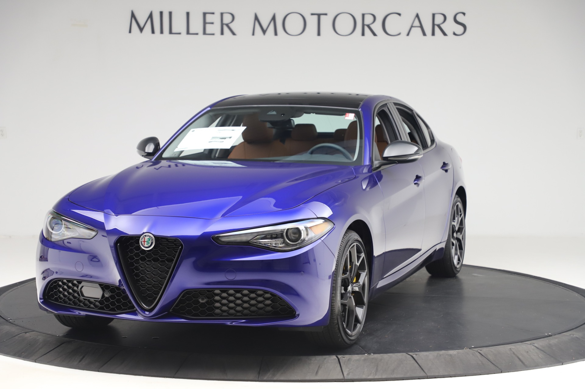 New 2020 Alfa Romeo Giulia Q4 for sale Sold at Rolls-Royce Motor Cars Greenwich in Greenwich CT 06830 1
