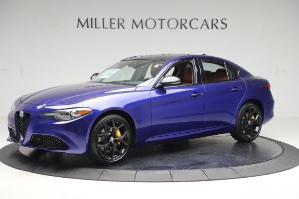 New 2020 Alfa Romeo Giulia Ti Q4 for sale $51,145 at Rolls-Royce Motor Cars Greenwich in Greenwich CT 06830 2